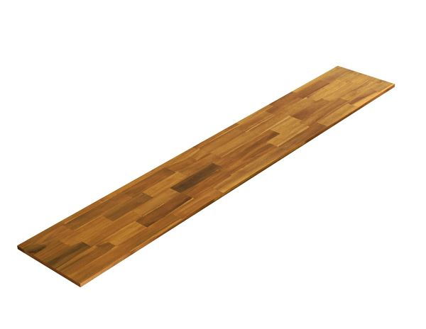 Picture of Acacia Kitchen Shelf - Golden Teak 16inch x 96inch x 0.71inch