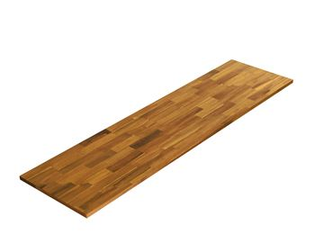 Picture of Acacia Kitchen Shelf - Golden Teak 16inch x 60inch x 0.71inch