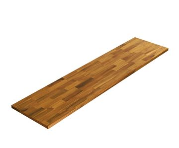 Picture of Acacia Kitchen Shelf - Golden Teak 12inch x 48inch x 0.71inch