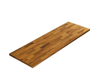 Picture of Acacia Kitchen Shelf - Golden Teak 12inch x 36inch x 0.71inch