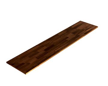 Picture of Acacia Kitchen Shelf - Espresso 16inch x 72inch x 0.71inch