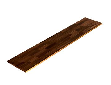 Picture of Acacia Kitchen Shelf - Espresso 12inch x 60inch x 0.71inch