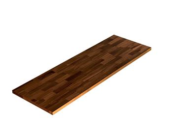 Picture of Acacia Kitchen Shelf - Espresso 12inch x 36inch x 0.71inch