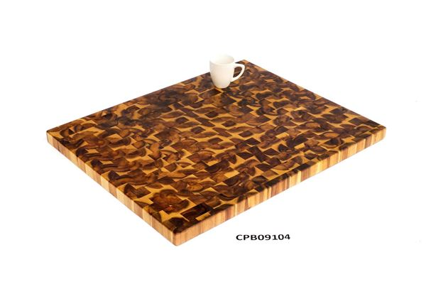 Picture of Light Oak Butcher Block Cutting Board