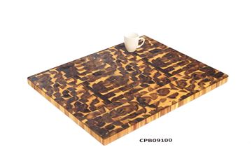 Picture of 32 inch x 25.5 inch x 1.5 inch Butcher Block Cutting Boards Golden Teak