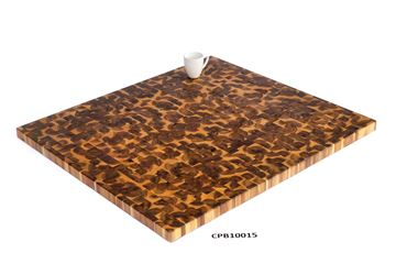 Picture of 40 inch x 36 inch x 1.5 inch Butcher Block Cutting Boards Light Oak