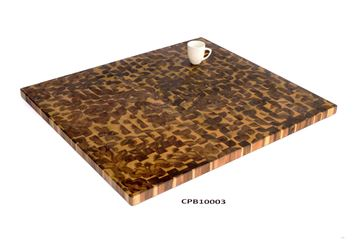 Picture of 40 inch x 36 inch x 1.5 inch Butcher Block Cutting Boards Brown