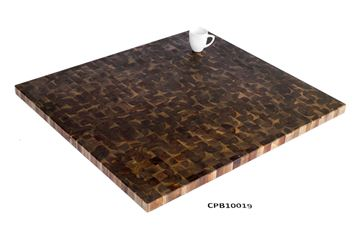 Picture of 40 inch x 36 inch x 1.5 inch Butcher Block Cutting Boards Espresso