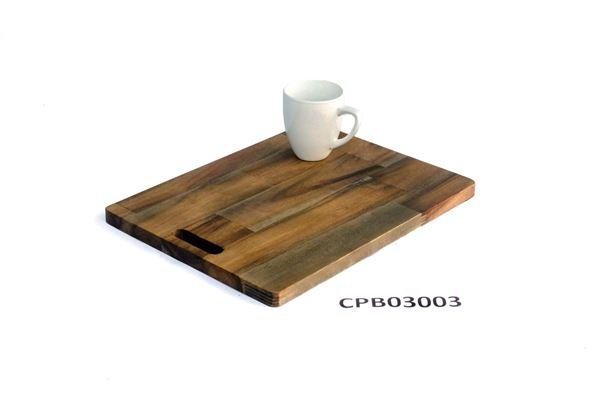 Picture of Brown Butcher Block Cutting Board