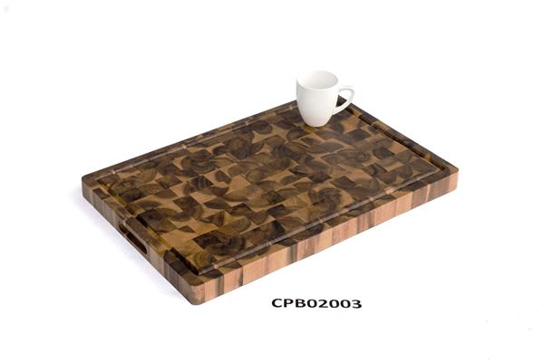 Picture of Brown Pattern Butcher Block Cutting Board