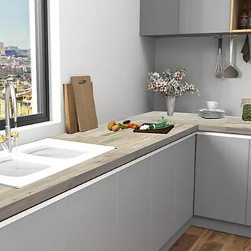 organic white countertop