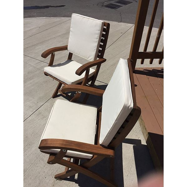 Cushion for Casino Patio Folding Chair