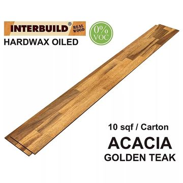 golden teak wall boards