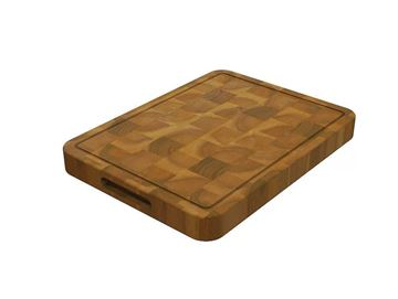 Butcher Block Chopping Board Golden Teak