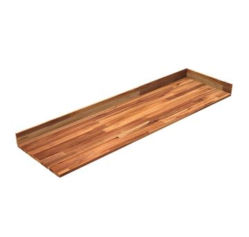 Vanity Countertop Golden Teak