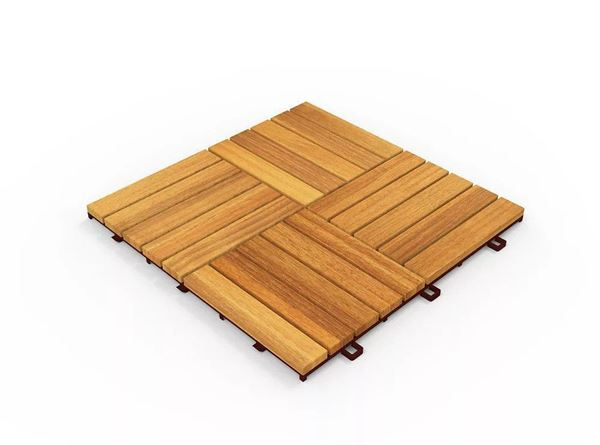 Golden Teak Deck Tiles