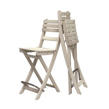 organic white sofia bar stool