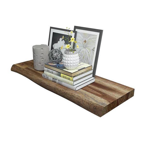 Brown Floating Shelf